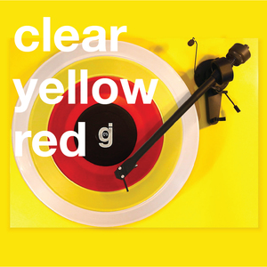 Coloring Book Vinyl - Clear, Yellow, Red