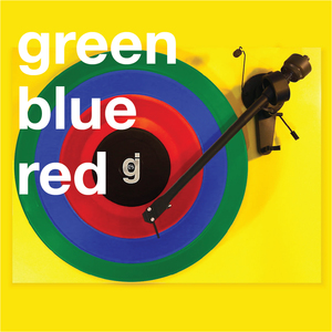 Coloring Book Vinyl - Green, Blue, Red