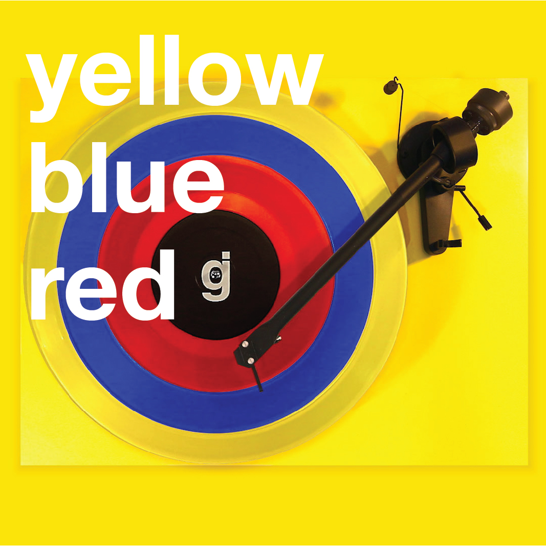 Coloring Book Vinyl - Yellow, Blue, Red