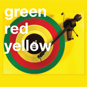 Coloring Book Vinyl - Green, Red, Yellow