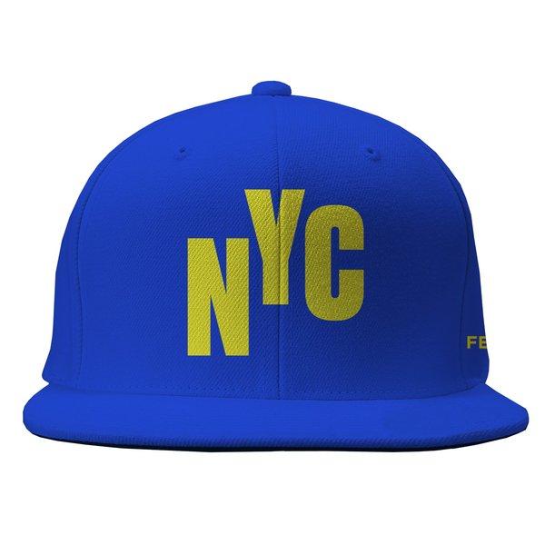2021 NYC Royal Blue Flatbrim