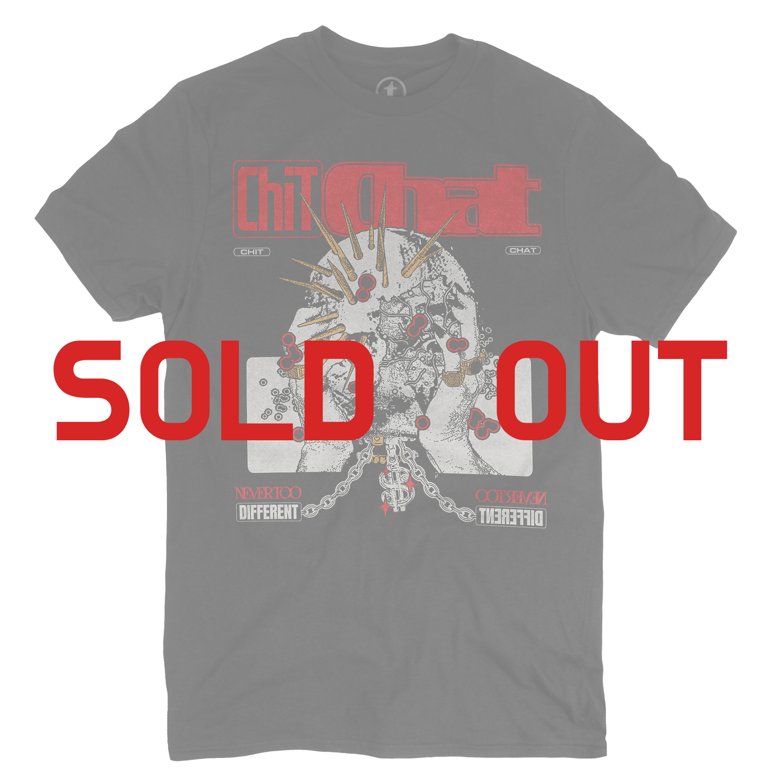 RED CHIT CHAT T-SHIRT (SOLD OUT)