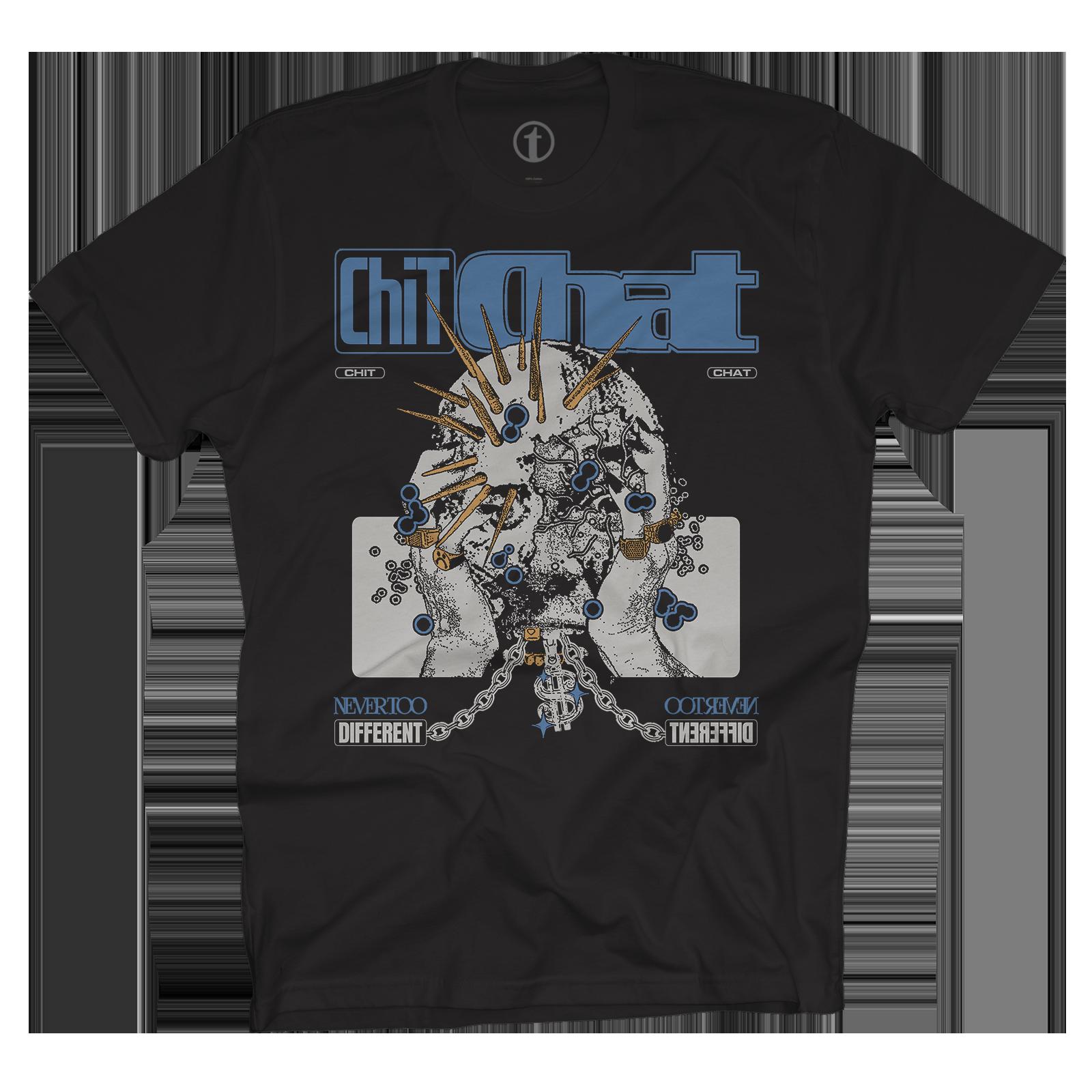 BLUE CHIT CHAT T-SHIRT