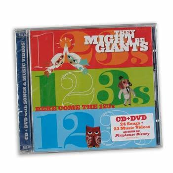 Here Come the 123s CD/DVD