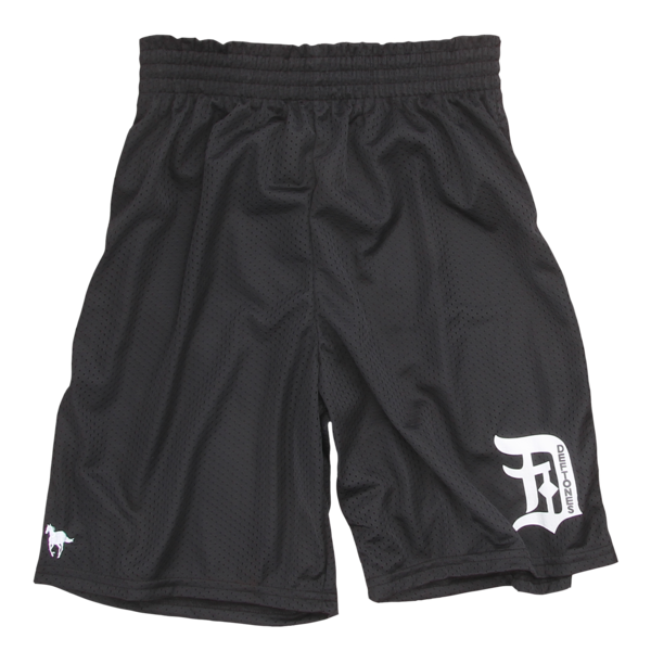 White Pony Gym Shorts