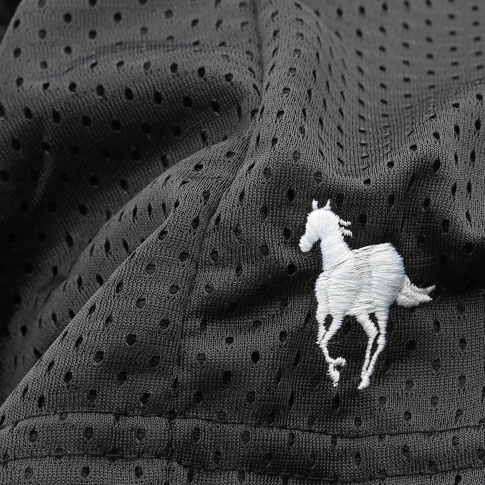 White Pony Gym Shorts