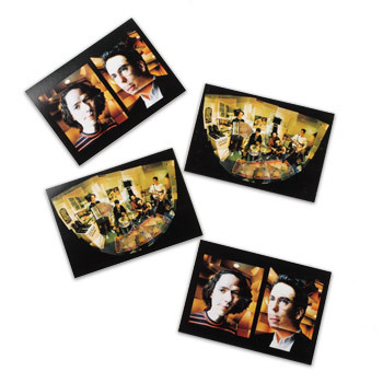 John and John Postcards 4 Pack