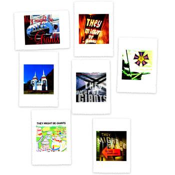 Album Artwork Postcards: 7-Pack