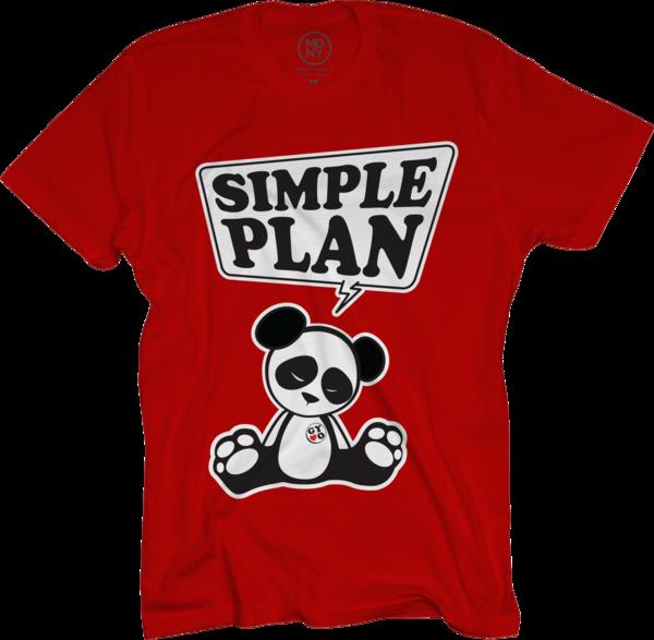 Panda on Red