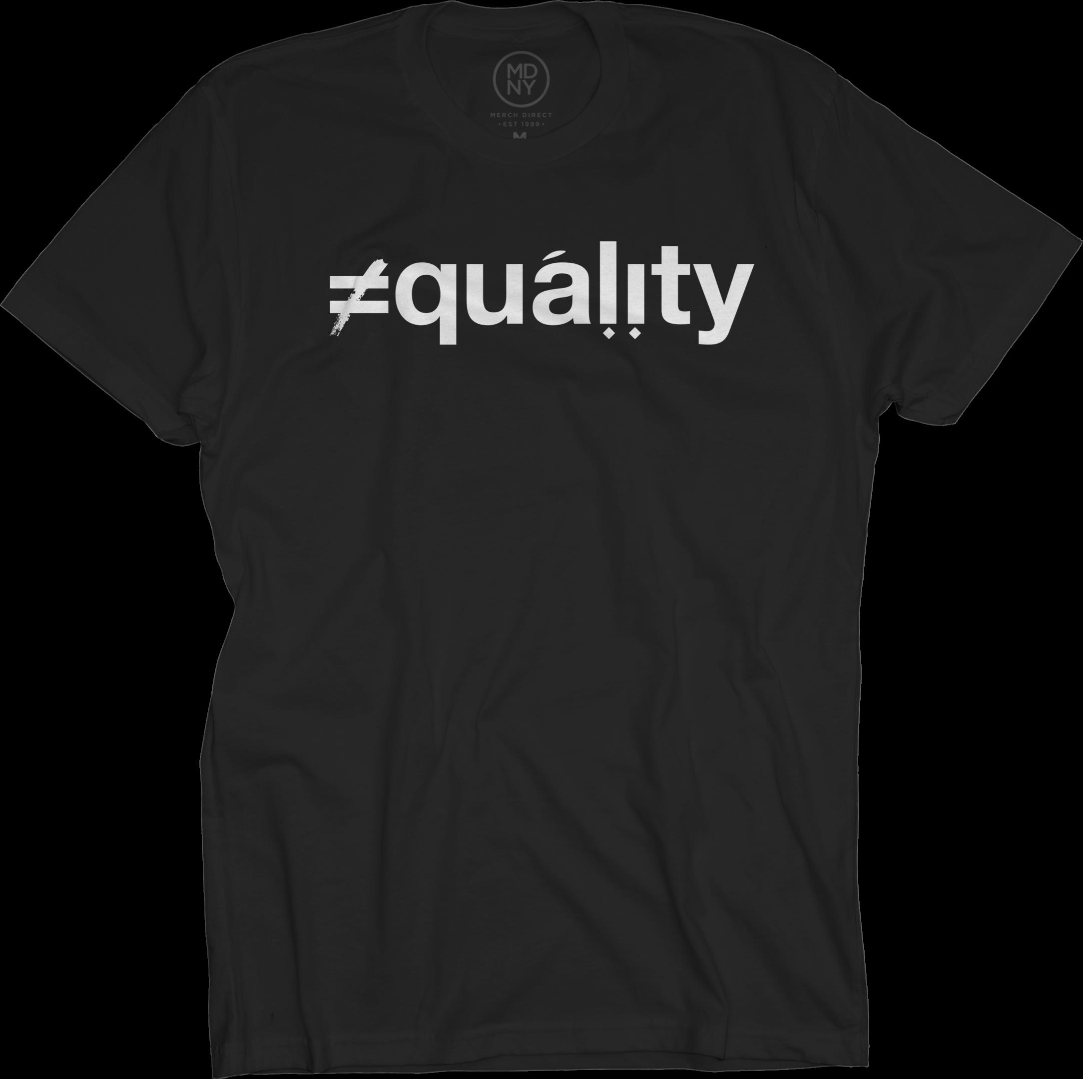 Ali Shaheed - Equality on Black T Shirt d6f63dfbd
