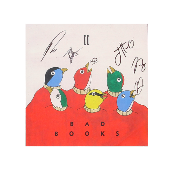 Bad Books II 12x12 Signed Poster