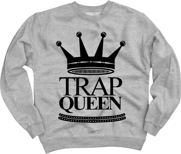 Trap Queen Crewneck Sweatshirt