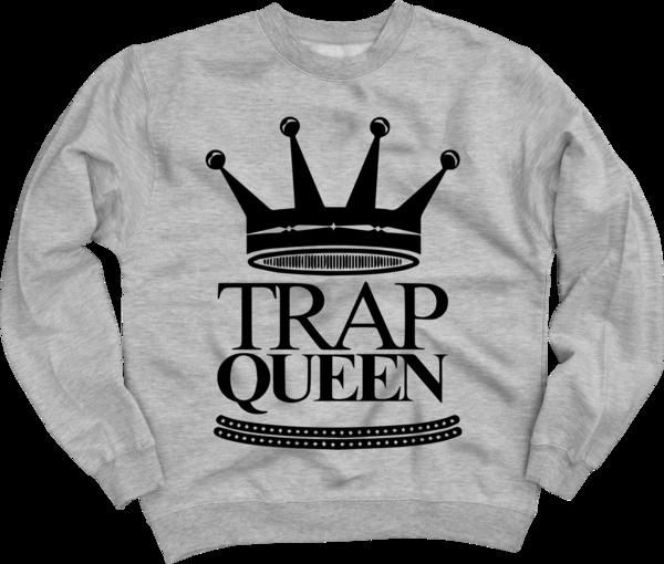 Trap Queen Crewneck Sweatshirt