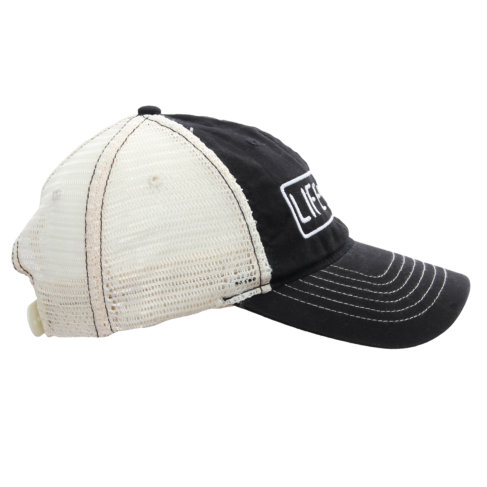 Life of Dad Store - Life of Dad on Black Trucker Hat 22c21edd65f