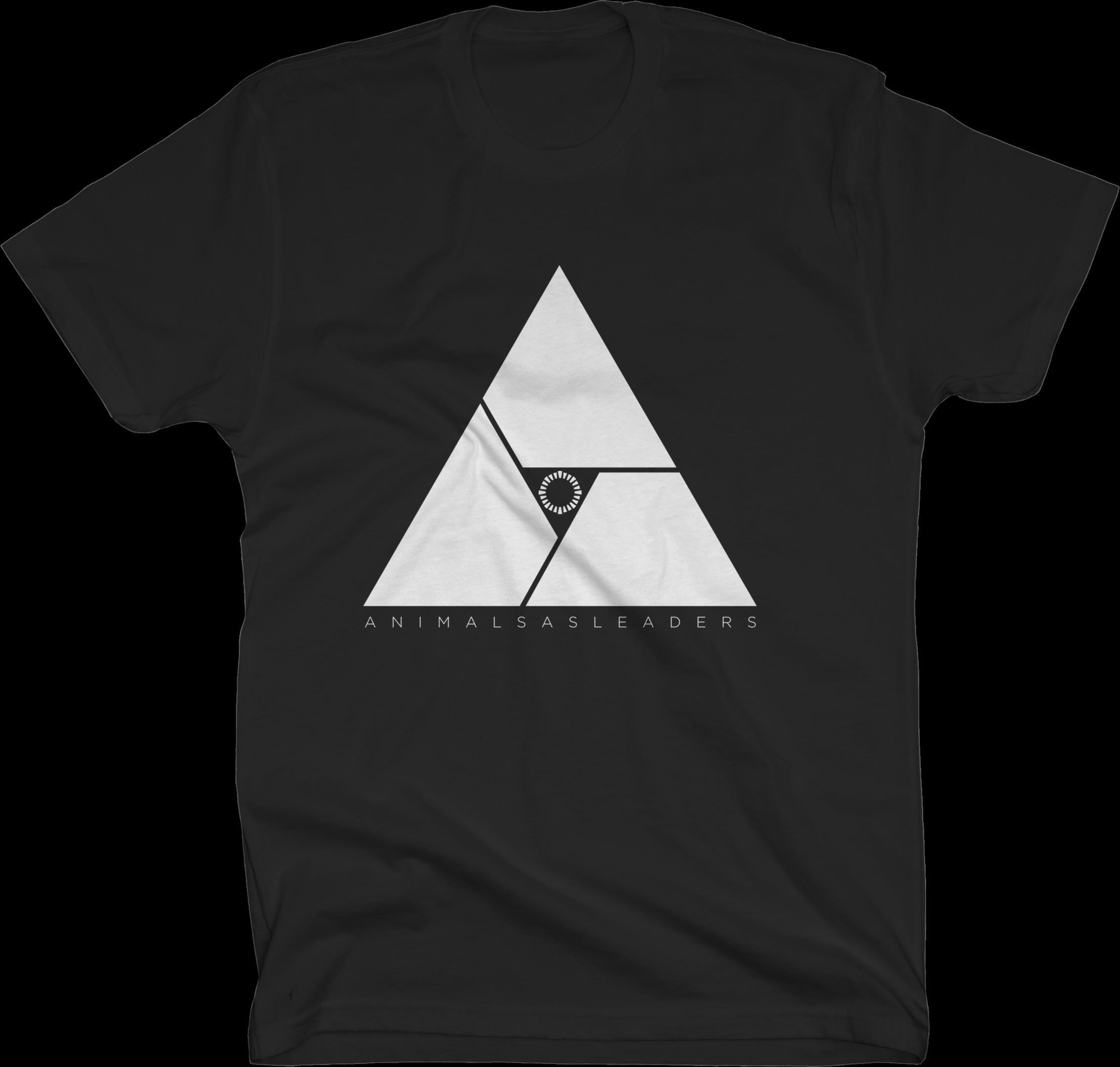 Triangle on Black