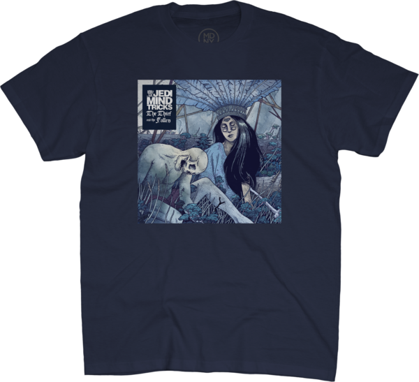 The Thief and the Fallen Album Art Navy - T-Shirt