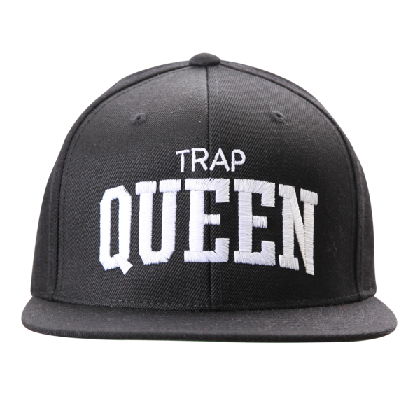 Trap Queen Black Snapback