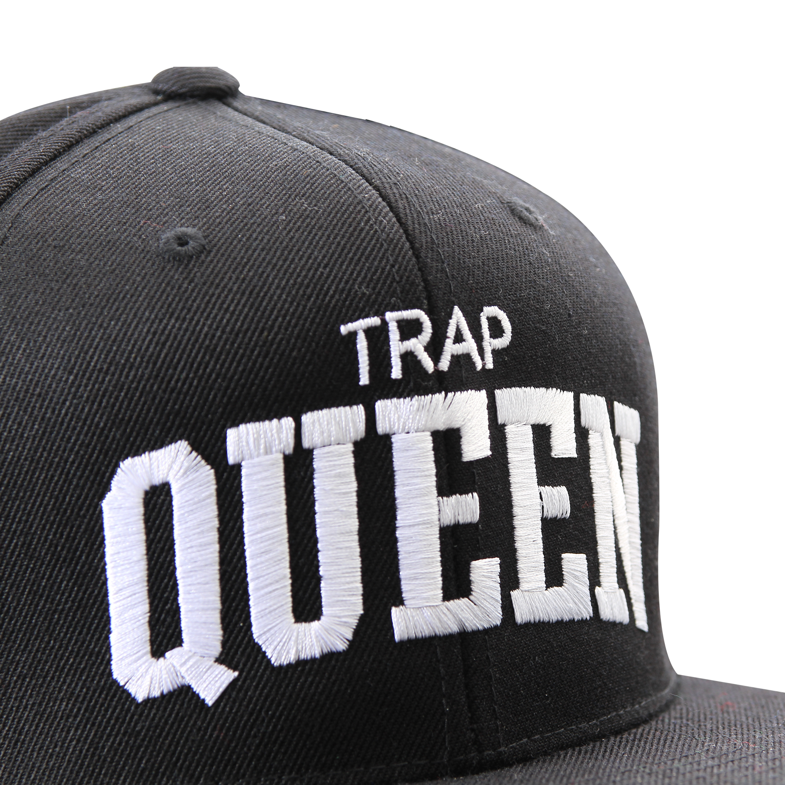Trap Queen Black Snapback