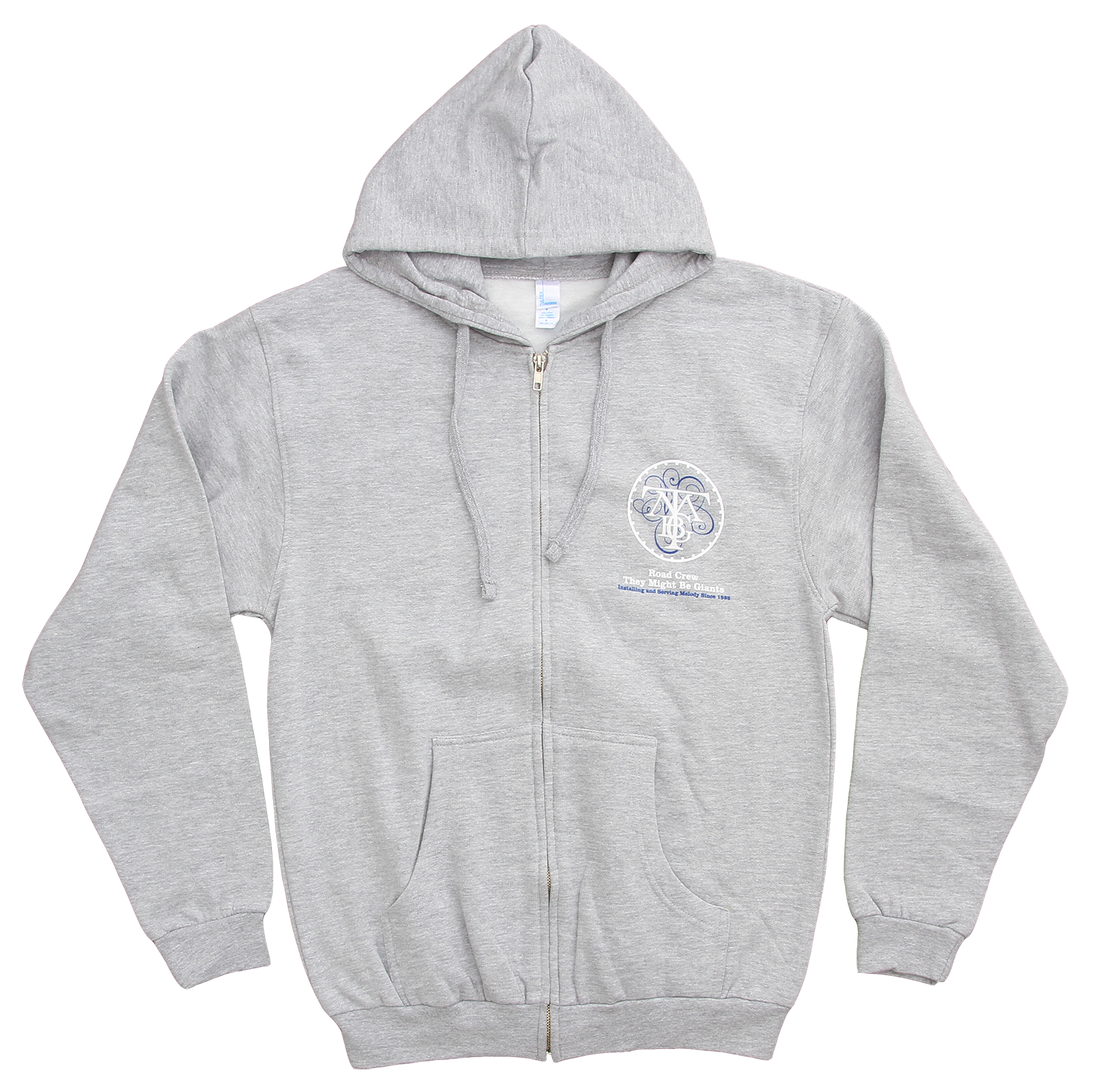 8086ed14 They Might Be Giants - Ape on Grey Zip Up Sweatshirt