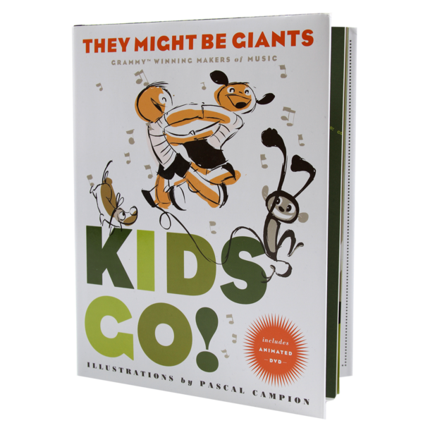 Kids Go! (Book + DVD)