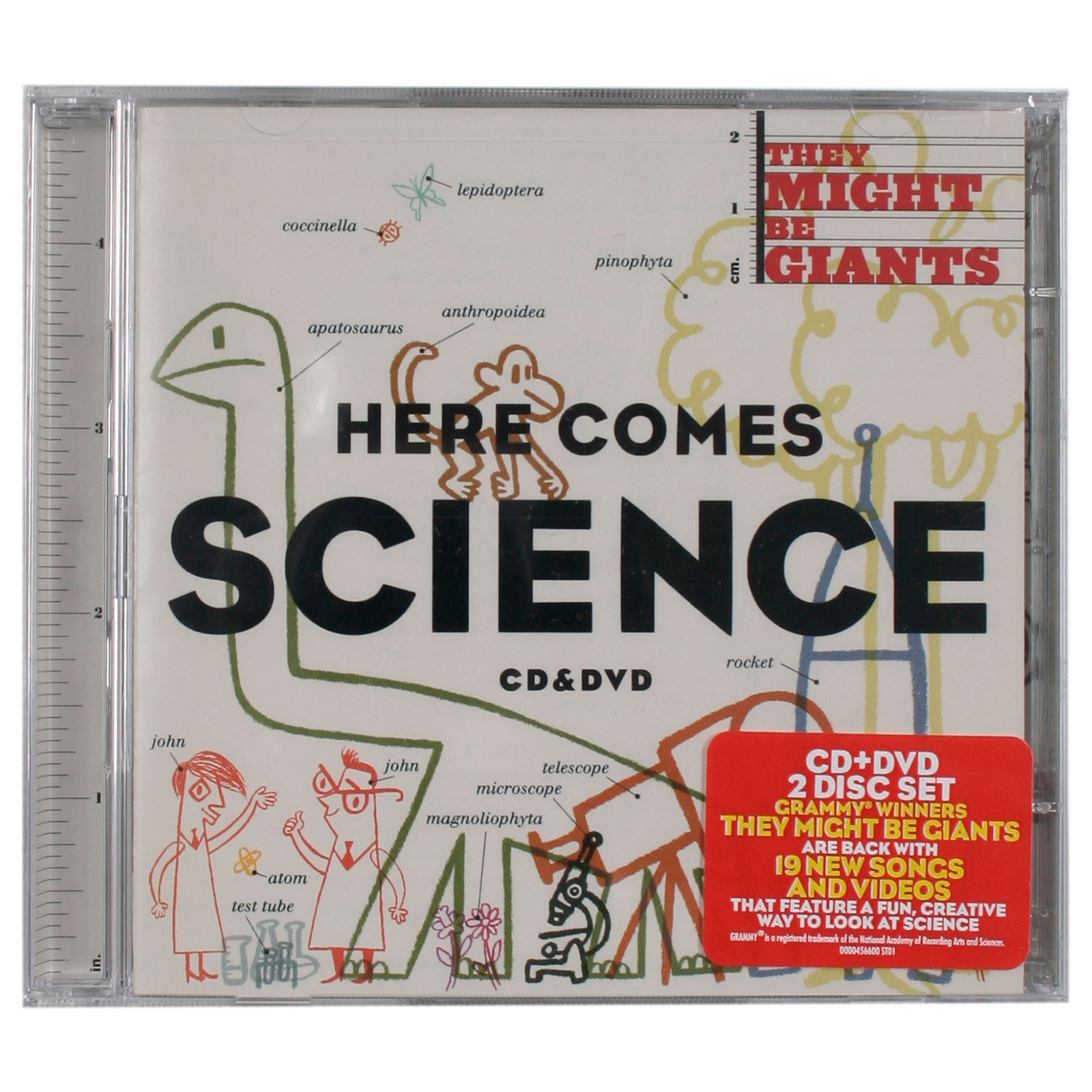 They Might Be Giants Here Comes Science Cd Dvd