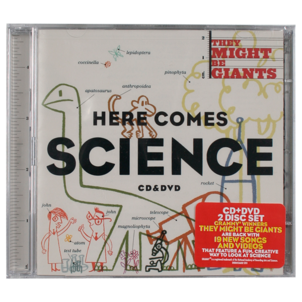 Here Comes Science CD/DVD